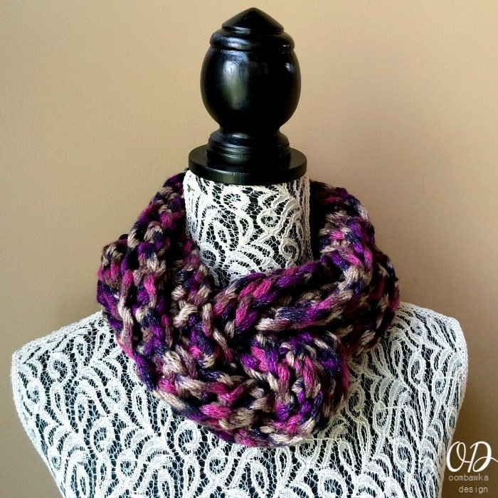 Twilight Infinity Scarf @OombawkaDesign