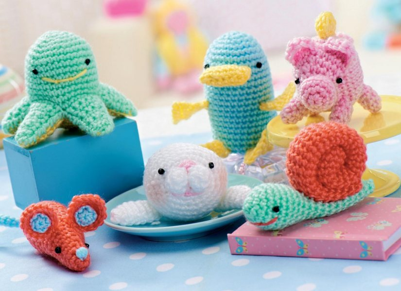 Easy Amigurumi Cute : Top 7 Awesome FREE Crochet Patterns Guest Contributor ...