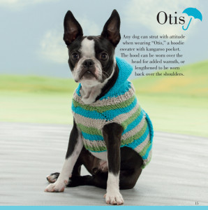 Otis | Seamless Knits for Posh Pups | Martingale Book Review | Oombawka Design