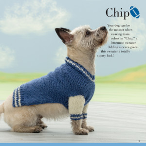 Chip | Seamless Knits for Posh Pups | Martingale Book Review | Oombawka Design