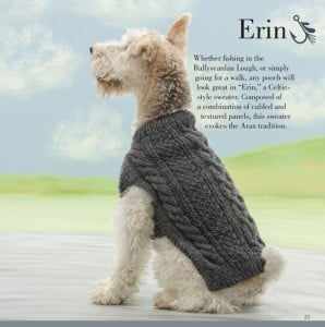 Erin | Seamless Knits for Posh Pups | Martingale Book Review | Oombawka Design