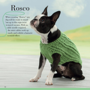 Rosco - Seamless Knits for Posh Pups   Martingale Book Review   Oombawka Design