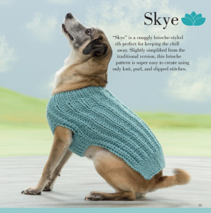 Skye | Seamless Knits for Posh Pups | Martingale Book Review | Oombawka Design