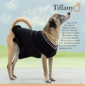 Tiffany | Seamless Knits for Posh Pups | Martingale Book Review | Oombawka Design