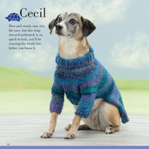 Cecil | Seamless Knits for Posh Pups | Martingale Book Review | Oombawka Design