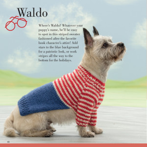 Waldo | Seamless Knits for Posh Pups | Martingale Book Review | Oombawka Design