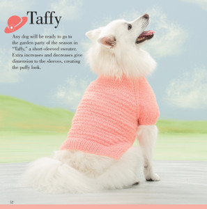 Taffy   Seamless Knits for Posh Pups   Martingale Book Review   Oombawka Design