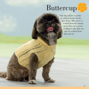 Buttercup   Seamless Knits for Posh Pups   Martingale Book Review   Oombawka Design