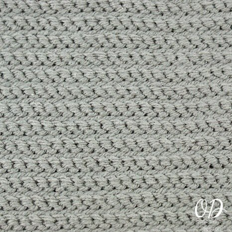 Back of the Square | | Slip Stitch Crochet Square | LLANCS @OombawkaDesign