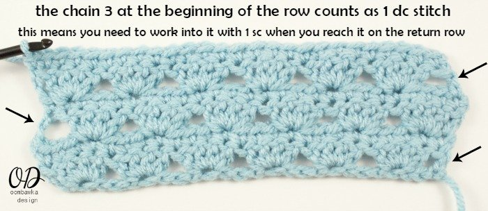 | Simplest Shell Stitch @OombawkaDesign