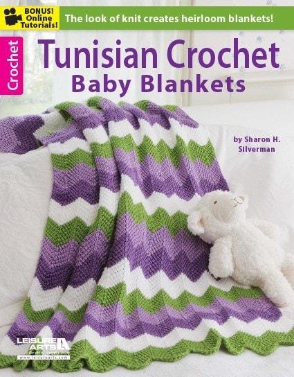Tunisian Crochet Baby Blankets