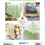 Tunisian Crochet Baby Blankets Back Cover | Tunisian Crochet Book Review @OombawkaDesign