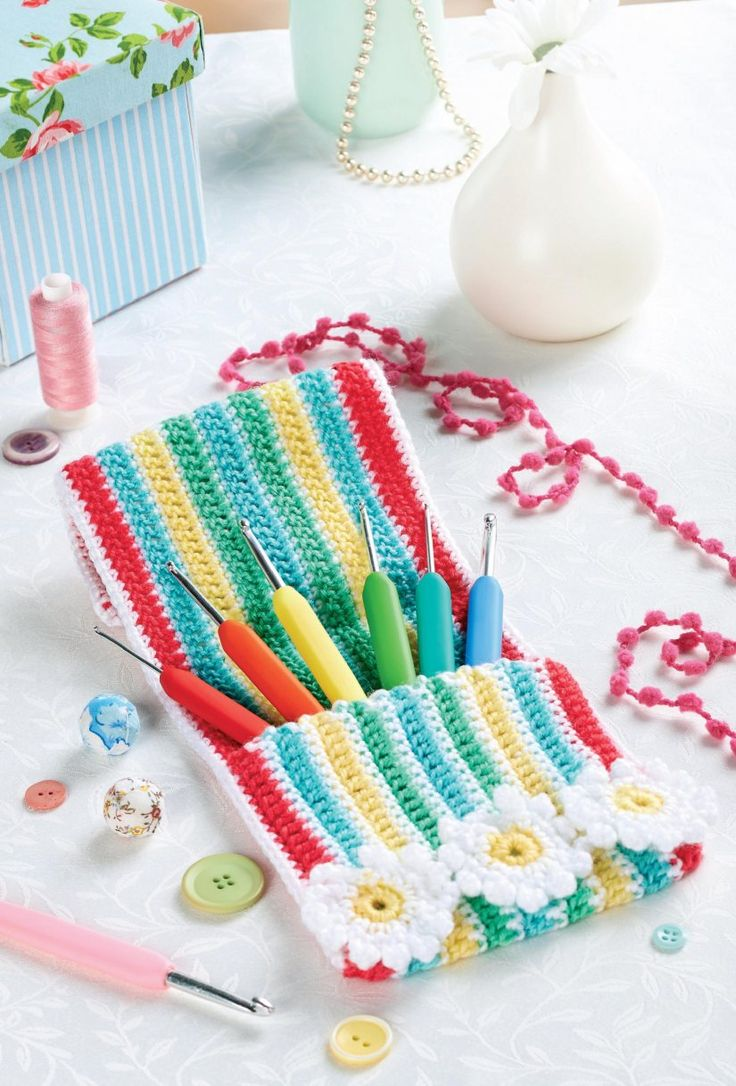 Free Crochet Pattern Hook Case : Top 7 Awesome FREE Crochet Patterns Guest Contributor ...
