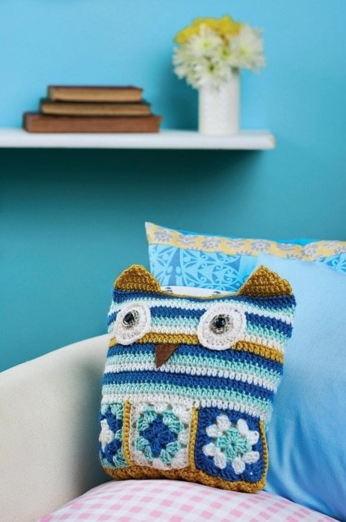 Owl  | Top 7 Awesome Free Crochet Patterns | Elaine's Guest Post @OombawkaDesign
