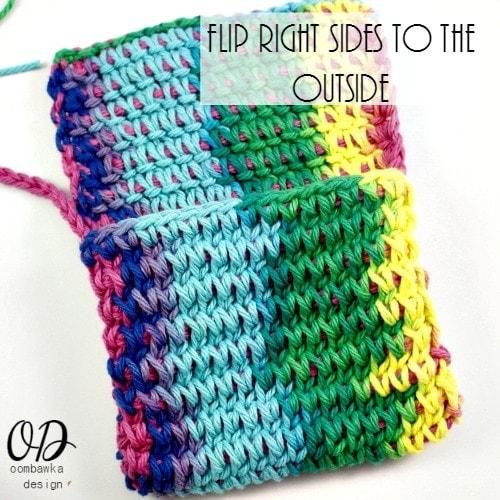 4   Children's Crochet Purse   Free Tunisian Crochet Pattern @OombawkaDesign