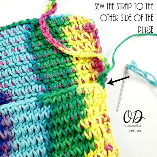 5 | Children's Crochet Purse | Free Tunisian Crochet Pattern @OombawkaDesign