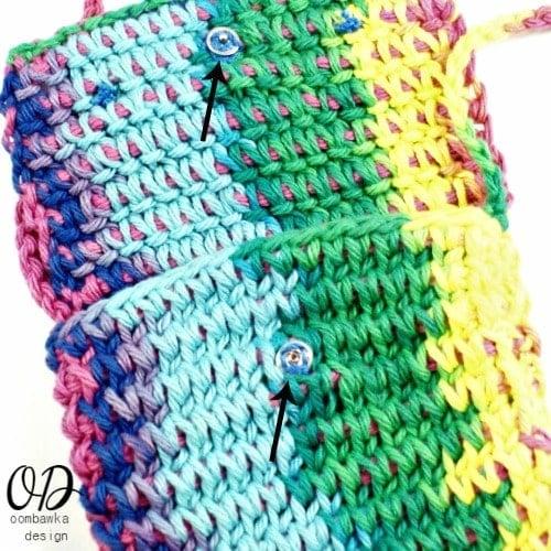 Childrens Rainbow Purse Free Tunisian Crochet Pattern ...