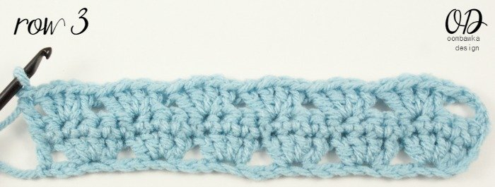 Row 3 | | Simplest Shell Stitch @OombawkaDesign