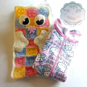A Granny Square Pajama Pillow | Guest Contributor Post