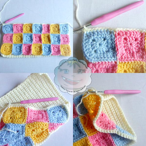5 Granny Square Pajama Buddy | Guest Contributor Post | Joanita | Creative Crochet Workshop @OombawkaDesign
