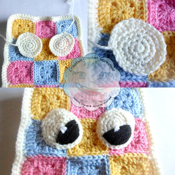 7 Granny Square Pajama Buddy | Guest Contributor Post | Joanita | Creative Crochet Workshop @OombawkaDesign