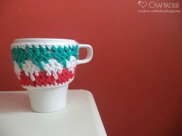 9 Larksfoot Stitch IKEA Mug Cozy | Guest Post Made in Craftadise @OombawkaDesign