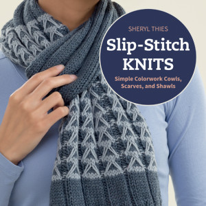 Title | Slip-Stitch Knits | Book Review | @OombawkaDesign