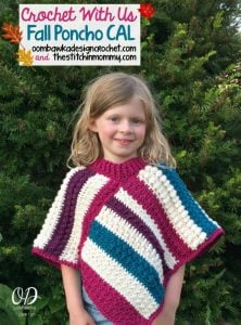 Crochet with Us Fall Poncho CAL Introduction Post