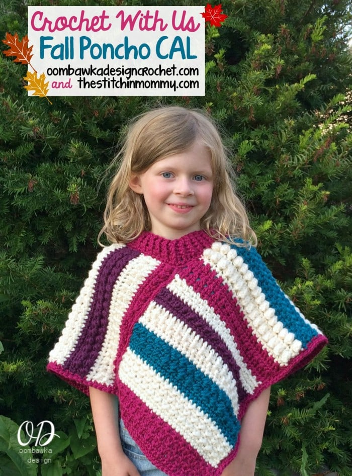 Easy Crochet Poncho Patterns By Size Worsted Weight Yarn