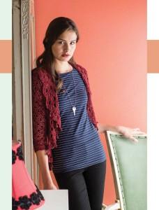 Boutique Bolero   Colorful Crochet Lace   Review @OombawkaDesign