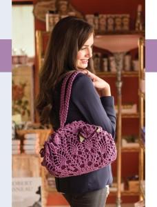 La Fleur Doily Bag   Colorful Crochet Lace   Review @OombawkaDesign