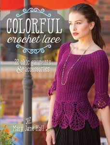 Colorful Crochet Lace | Review @OombawkaDesign