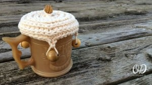 Quick and Easy Crochet Cup Cover Pattern