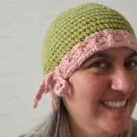Drawstring Beanie with Yarrow Flower | Guest Post