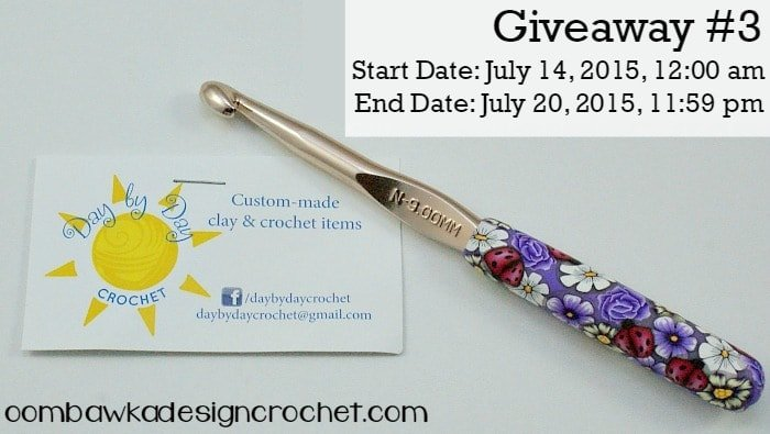 Day by Day Crochet   Guest Post   Review and Giveaway