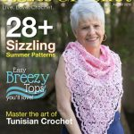 Cover Image | I Like Crochet August Issue Review @OombawkaDesign