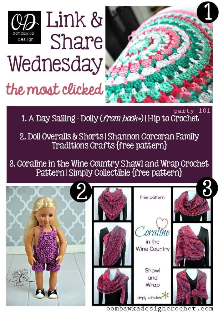Link Party 101   Link and Share Wednesday the Most Clicked