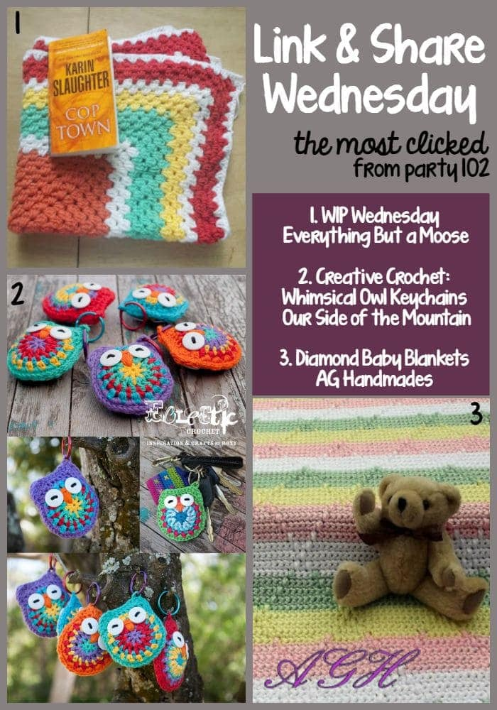 Link and Share Wednesday the Most Clicked Party 102 @OombawkaDesign
