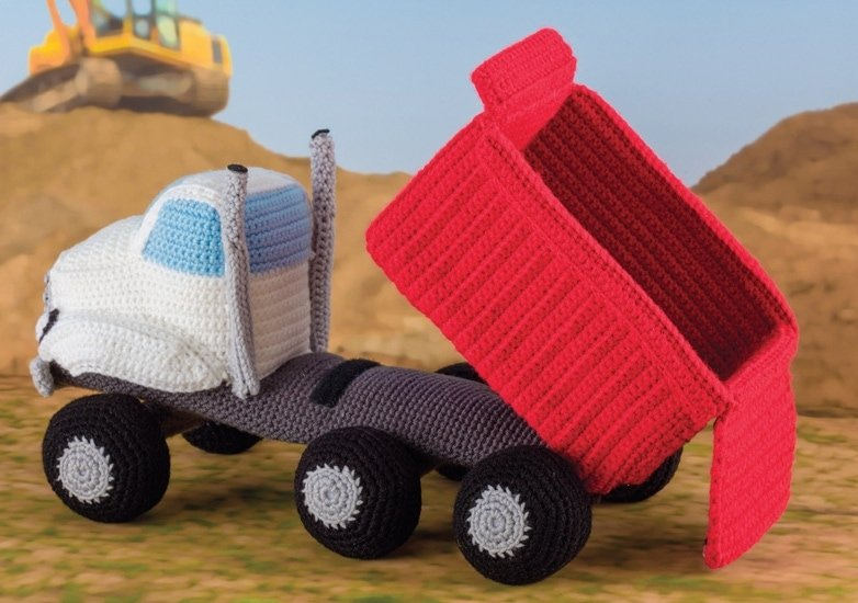 Dump Truck 2 | Honk! Beep! Vroom! - Crochet Toys That Move | Review | @OombawkaDesign