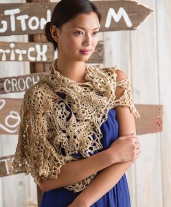 Arcadian Wrap   Cover   Quick Crochet Accessories (3 Skeins or Less)   Book Review   Oombawka Design