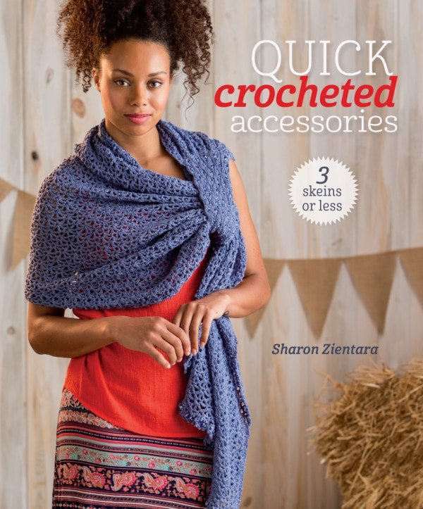Cover | Quick Crochet Accessories (3 Skeins or Less) | Book Review | Oombawka Design