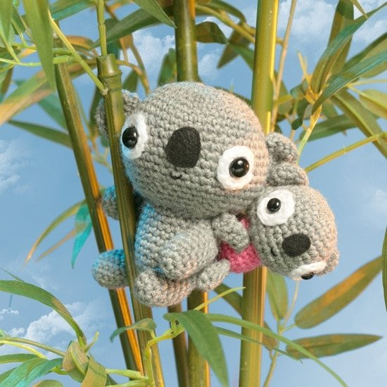 Baby Koala | Amigurumi Toy Box | Book Review | Oombawka Design