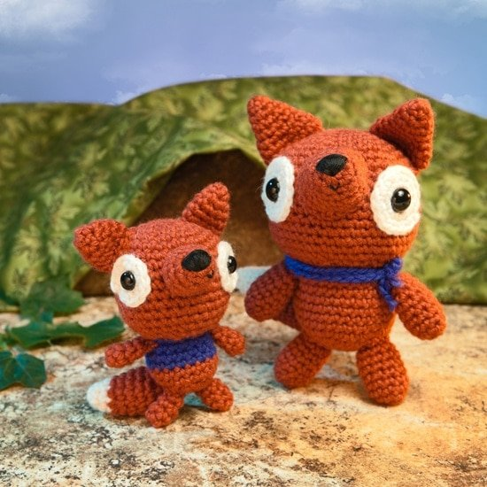 Baby Fox | Amigurumi Toy Box | Book Review | Oombawka Design
