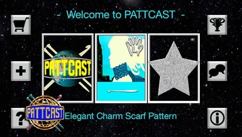 Elegant Charm Scarf | PATTCAST | Guest Post | Oombawka Design