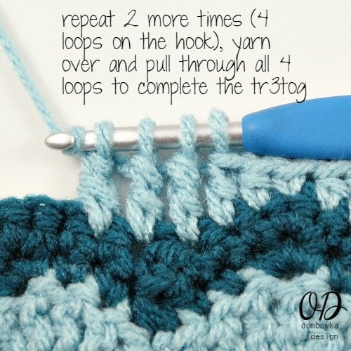tr3tog 7  Wave and Chevron Stitch | LLANCS @OombawkaDesign