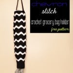 Crochet Grocery Bag Holder | Free Pattern | @OombawkaDesign