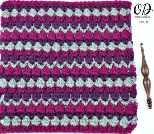 12 Inch Fiona Square | Free pattern | Oombawka Design