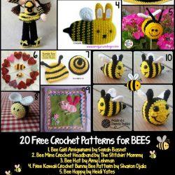 Soft & Dreamy Bee amigurumi pattern - Amigurumi Today | 250x250