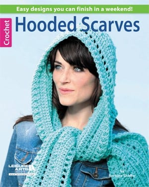Hooded Scarves to Crochet | Book Review @OombawkaDesign