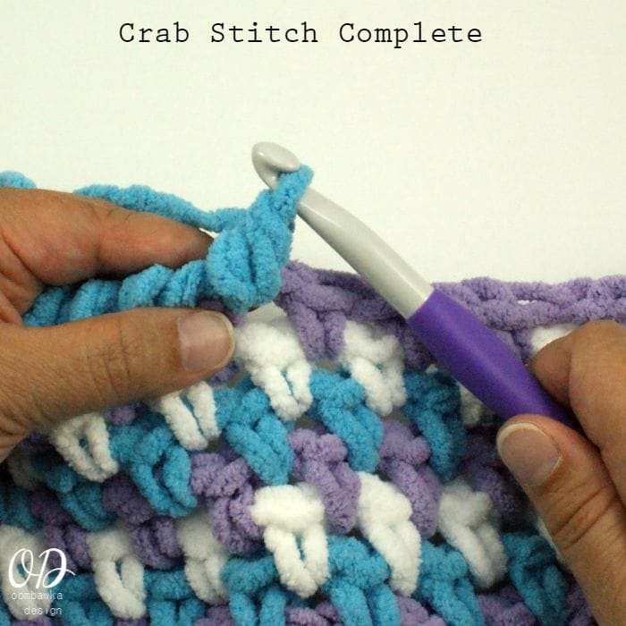 Crochet Stitches Reverse Sc : Crab Stitch Reverse Single Crochet Stitch Tutorial ? Oombawka ...